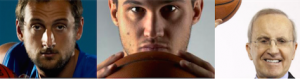 Che Fuori Tempo Che Fa ospiti 3 grandi campioni di basket: Danilo Gallinari, Marco Belinelli e Dan Peterson. logo